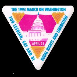 1993 March of Washington Button
