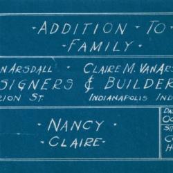 Nancy's Birth Announcement