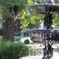 Fountain in Irvington Park