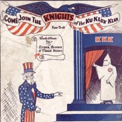 Ku Klux Klan Poster, courtesy of the Indiana Historical Society